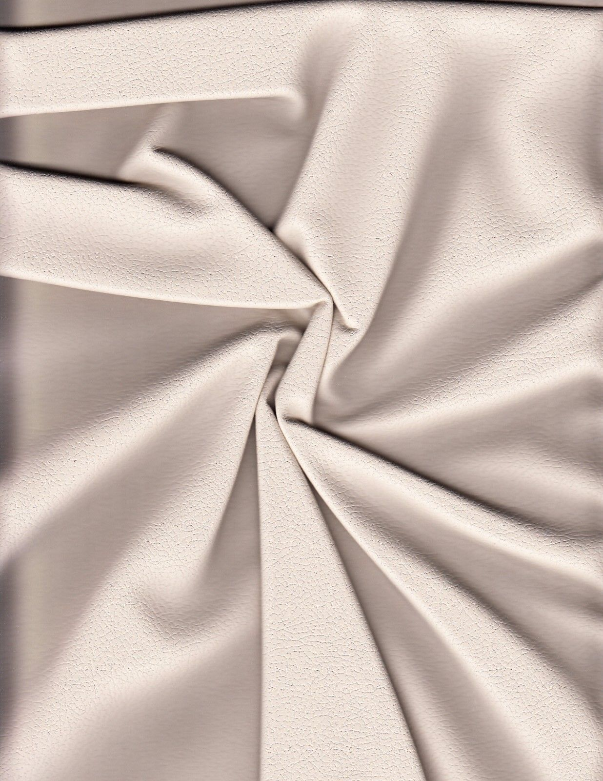 2.375 yds Ultrafabrics Upholstery Fabric Faux Leather 303-3822 Brisa Bone HL10