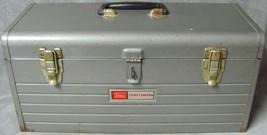 "Vintage•1970•Craftsman•Model No 6512• Toolbox•Box•18""x8""x9""•w/Tool Tray•Preowned - $39.99"