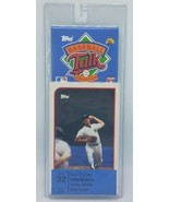 1989 Topps Baseball Talk Soundcard Collection #32 Bobby Bonilla Brett Bu... - $8.95