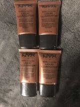 NYX Born To Glow Liquid Illuminator, LI04 Sun Goddess Lot of 4 Sealed - $18.80