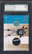 2001 Upper Deck e-Card Prizes #EJCW Chris Weinke Jsy /300 SGC 8 - $5.93