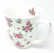Rose Roses Feuillage Porcelaine Fine Mug Tasse 0.4L 10.5CM X 12.5CM - $6.84