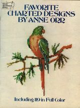 Cross Stitch Needlework Anne Orr Favorite Charted 119 Full Color Designs Pattern - $13.99