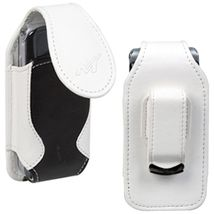 Vertical Pouch (2715WB) White/Black For SONY ERICSSON W350 W350i - $22.00