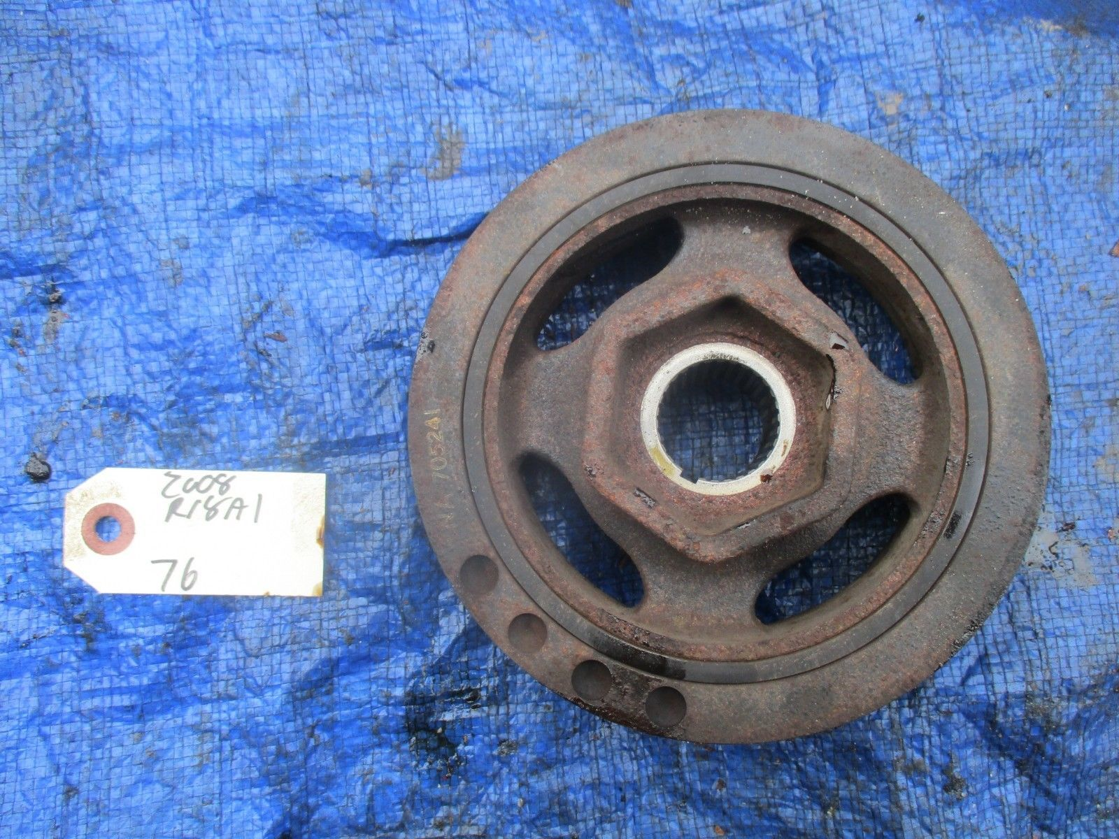 Primary image for 06-09 Honda Civic R18A1 VTEC crankshaft pulley OEM engine motor R18 crank RNA 2