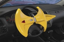 The WRAP Steering Wheel Lock & Airbag Cover Anti-Theft Alarm with Remote... - $108.95