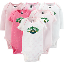 Carters Bodysuits 3-6 Mo and 18mo Cabbage Patch Kids Logo Halloween Baby Toddler - $9.95