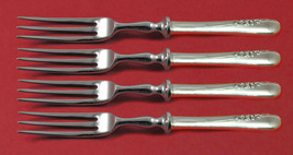Blossom Time by International Sterling Silver Fruit Fork Set 4-piece Cus... - $279.00