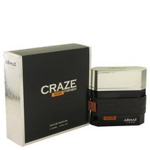 Craze Noir by Armaf Eau De Parfum  3.4 oz, Men - $30.54