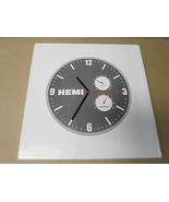 Magnum Charger Hemi Logo Wall Clock Official Licensed Chrysler Metal Fra... - $10.42