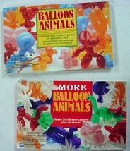 Balloon Animals 2 Lot Contemporary Books Aaron Hsu-Flanders Clown Entert... - $3.50