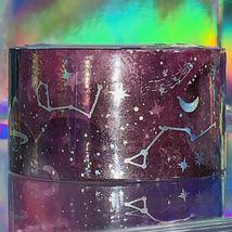 Sealed NIP Papergeek 2.5cm Constellation Galaxy Universe Planets Theme Foil image 6