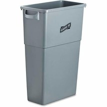 Genuine Joe GJO60465 Plastic Space Saving Waste Container, 23 gallon... - $40.77