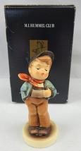 Vintage M.I. HUMMEL # 174 LUCKY FELLOW 9cm CERTIFICATE & BOX Germany HUM... - $30.00