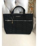 AIMEE KESTENBERG MARA SATCHEL BLACK QUILTED COSMETIC BAG RARE FIND!MSRP ... - $27.99