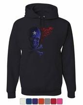 Fantacycle Skull Crossbones Hoodie American Pride Tribal Flame Sweatshirt - $22.46+