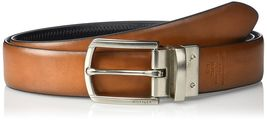 Tommy Hilfiger Men's Reversible Feathered Edge Stitched Leather Belt 11TL02X188 image 5