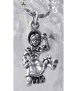SALE Little Miss Muffet Spider Charm Silver Nursery Rhyme - $13.39