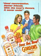 Boar Vodka Pour the Boar! Gordon's Orange Wildberry Fun Bottle Graphics ... - $10.99