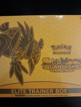 Pokemon Sun And Moon Guardians Rising Elite Trainer Box New Sealed - $39.99