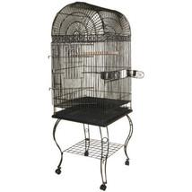 A&E Cage Black Economy Dome Top Bird Cage 20x20x58 In 644472174595 - £138.73 GBP