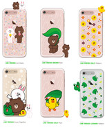 LINE Friends Light UP Clear Case V.3 iPhone 7/7 Plus Soft Cover Mobile S... - $43.98