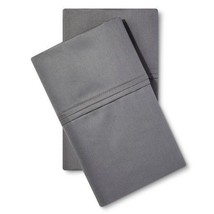 Threshold Performance King 2 Pillowcases - Color: Dark Grey Solid - Bran... - $28.01