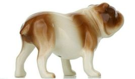 Hagen Renaker Miniature Dog Bulldog Brown and White Ceramic Figurine image 9
