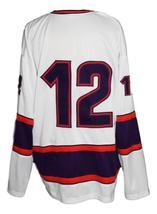 Custom Name # San Antonio Iguanas Retro Hockey Jersey New White Any Size image 3