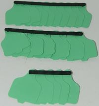 Destron Fearing DuFlex Visual ID Livestock Panel Tags LG Green 25 Sets 1 to 25 image 6