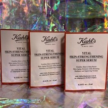 3x 4mL Kiehl's Vital Skin Strengthening Serum Smaller=Fresher4Longer 12mL TOTAL