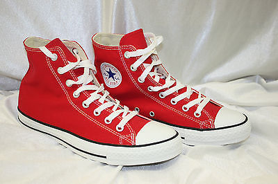 Primary image for Men's Converse All Stars Red Fashion Sneakers