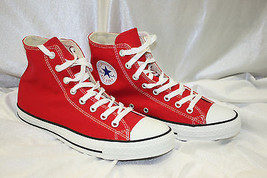 Men's Converse All Stars Red Fashion Sneakers  - $85.00