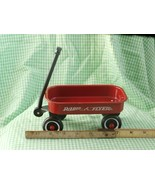 Doll Size Radio Flyer Red Wagon, Approximately 7 1/2 inches long X 3 inc... - $16.82