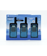 Motorola Talkabout T100TP Walkie Talkie - 16 Mile Two Way Radios - Blue,... - $39.72
