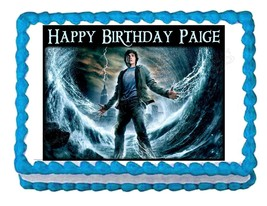 PERCY JACKSON & THE OLYMPIANS party edible cake image cake frosting topper - $7.80