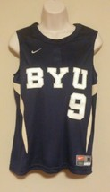 BYU Brigham Young Cougars #9 Soccer Game Jersey Womens M 8-10 Medium Team Issued - $44.99