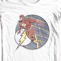 The Flash T-shirt super hero DC comics free shipping 100% cotton DCO602 image 1