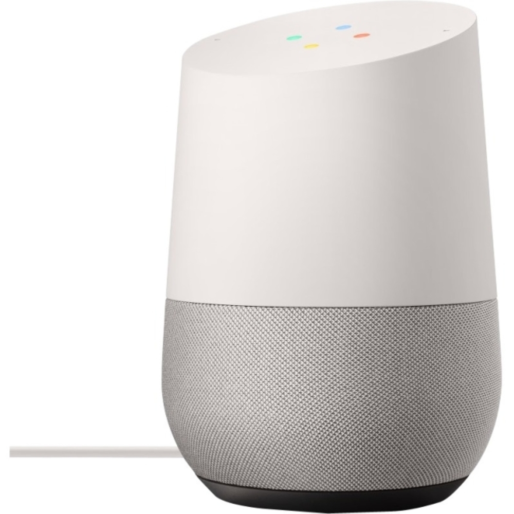 Primary image for Google Home Speaker System - White Slate - Crystal Sound - Wireless LAN