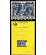330, Mint 5c - SUPERB OG NH GEM With PFC - A Remarkable Stamp! - $895.00
