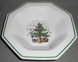 "Nikko CHRISTMASTIME PATTERN 9"" Vegetable or Serving Bowl MADE IN JAPAN - $37.61"