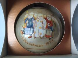 "VTG CHRISTMAS Schmid  Hummel Heavenly Trio ""Christmas 1978"" - $29.65"