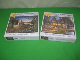 Bits & Pieces 300 Piece Puzzle J Hansel Good Old Days & G Peoples Remember When - $16.79