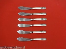 """Madam Jumel by Whiting Sterling Silver Trout Knife Set 6pc. HHWS  Custom 7 1/2"""" - $358.25"""