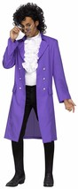 Fun World Purple Pain Prince Adult Mens Musician Halloween Costume 133164 - $32.99+
