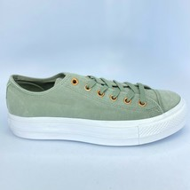 Converse CTAS Clean Lift OX Dark Stucco Leather Shoes 561399C New Women's 10.5 - $29.13