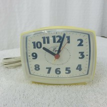 Vintage Equity Analog Alarm Clock Electric 33100 Replacement Parts Working - $14.80