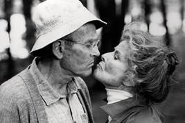On Golden Pond Henry Fonda Katharine Hepburn B/W 18x24 Poster - $23.99