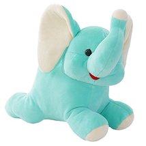 Black Temptation Mint Green Soft Plush Doll Kids Plush Toy Stuffed Elephant - $17.73