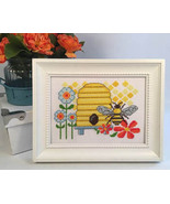 Busy As A Bee summer cross stitch chart Tiny Modernist  - $8.10